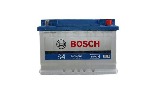 Аккумулятор Bosch Silver 74 R S4 009