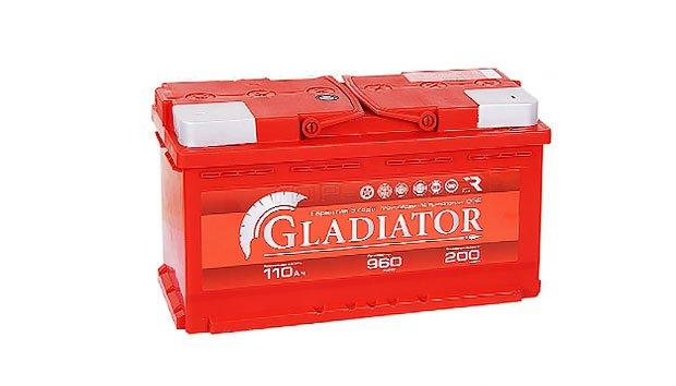 Аккумулятор Gladiator 110 L