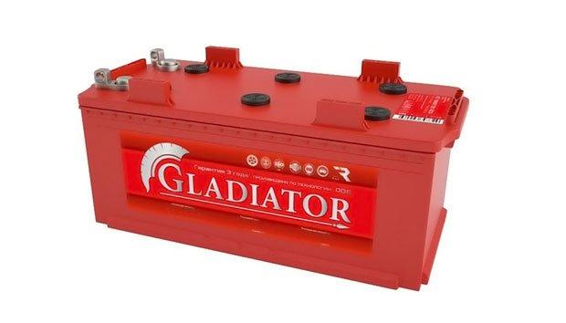 Аккумулятор Gladiator 210 R болт