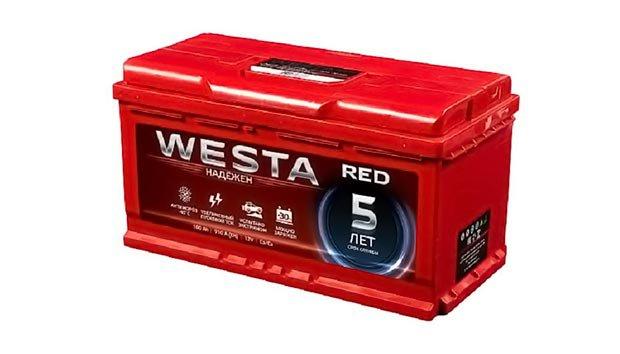 Аккумулятор WESTA red 100 L