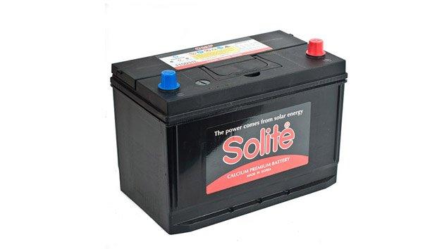 Аккумулятор Solite 115D31 R Бортик