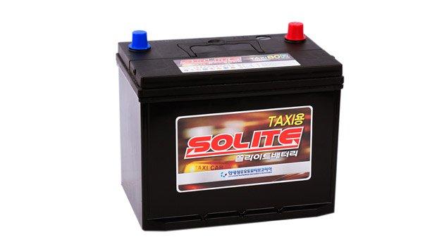 Аккумулятор Solite TAXI 80 L Бортик