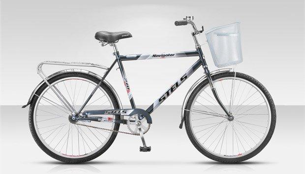 Велосипед Stels Navigator 210 + корзина