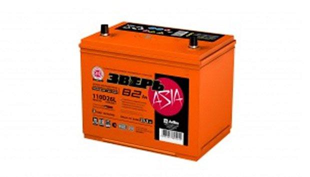 Аккумулятор Зверь Азия 110D26R