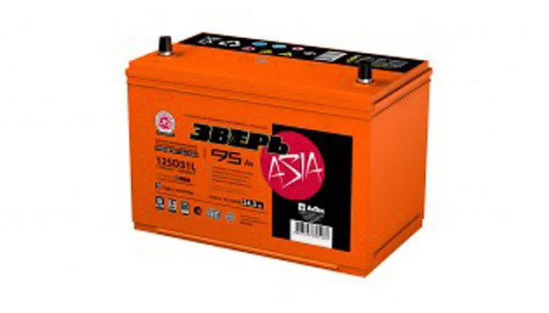 Аккумулятор Зверь Азия 125D31R