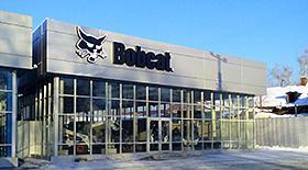 В Иркутске открылся салон спецтехники Bobcat