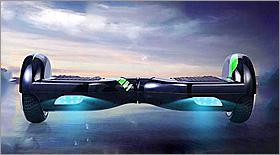 Новый вид электротранспорта – гироскутер, уже в Иркутске